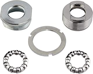 Alta Bicycle Bottom Bracket Cup Set for 3-Piece Cranksets 1.37x24 tpi