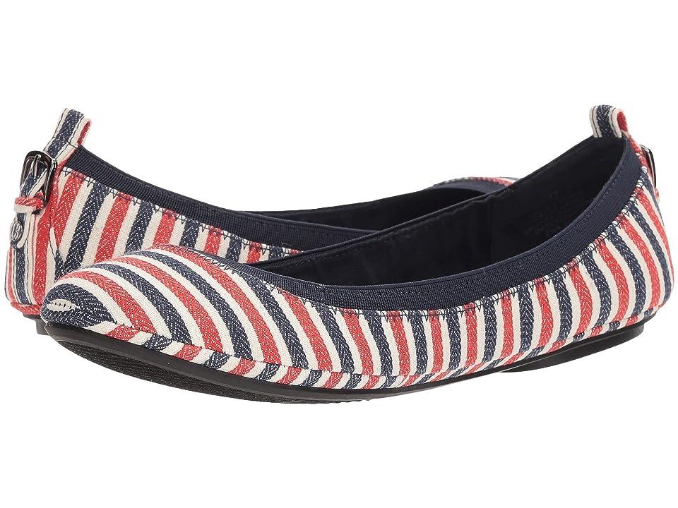 Bandolino Edina (Red Multi/Canvas Stripe/Canvas Stripe) Women