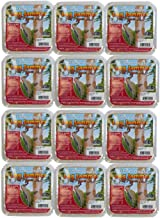12 Packs of Pine Tree Farms Log Jammer Hot Pepper Suet- 3 Plugs Per Pack