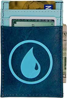 Magic the Gathering Front Pocket Card Wallet Blue Mana