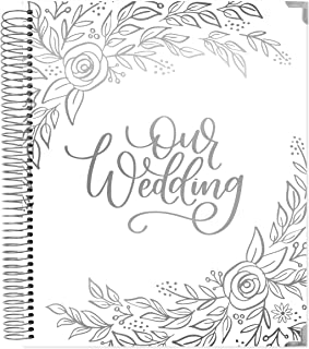 bloom daily planners Wedding Planner & Organizer/Hardcover Keepsake Journal with Essential Planning Tools - Checklists, Vision Boards, Tips & More - 9