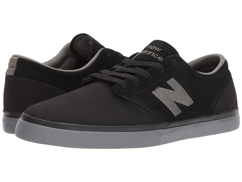 (ニューバランス) New Balance メンズスニーカー?カジュアルシューズ?靴?スケート NM345 Black/Magnet 9.5 (27.5cm) D - Medium