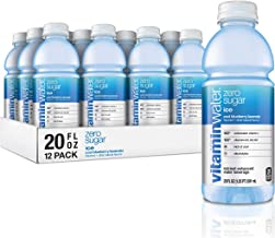 Vitaminwater Zero Sugar Ice, Ice Cool Blueberry-Lavender Flavored, Electrolyte Enhanced Bottled Water with Vitamin b5, b6,...