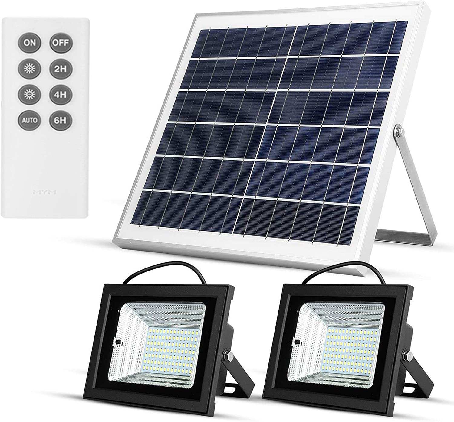 Richarm Solar Flood Reservation Sale Special Price Lights Control Powered Remote Outdoor