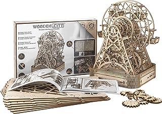 WOODEN.CITY Puzzle 3D Mécanique Modèle en Bois Ferris Wheel by Maquette mécanique à Construire en 3D