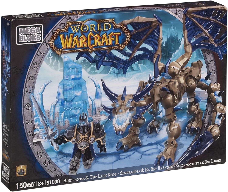 Mega Bloks 91008 - World Of Warcraft - Arthas & Sindragosa B0083F31KA  Helle Farben       Hohe Qualität und günstig