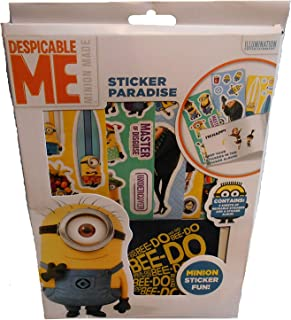Disney- Minions Sticker Paradise, DMSPA