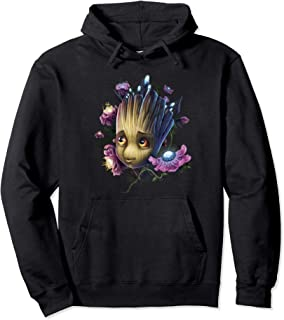 Marvel Guardians Of The Galaxy Groot Flowers Sweat à Capuche