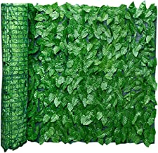 0,5 * 3M / 0,5 * 1M Artificial Leaf Screening Roll Protected Privacy Hedging Muur Landscaping Indoor Out Omheining van de ...