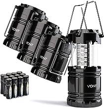 Vont 4 Pack LED Camping Lantern, LED Lantern, Suitable...