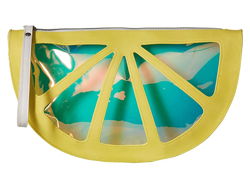 Circus by Sam Edelman Half Moon Wristlet (Yellow Lemon) Wristlet Handbags