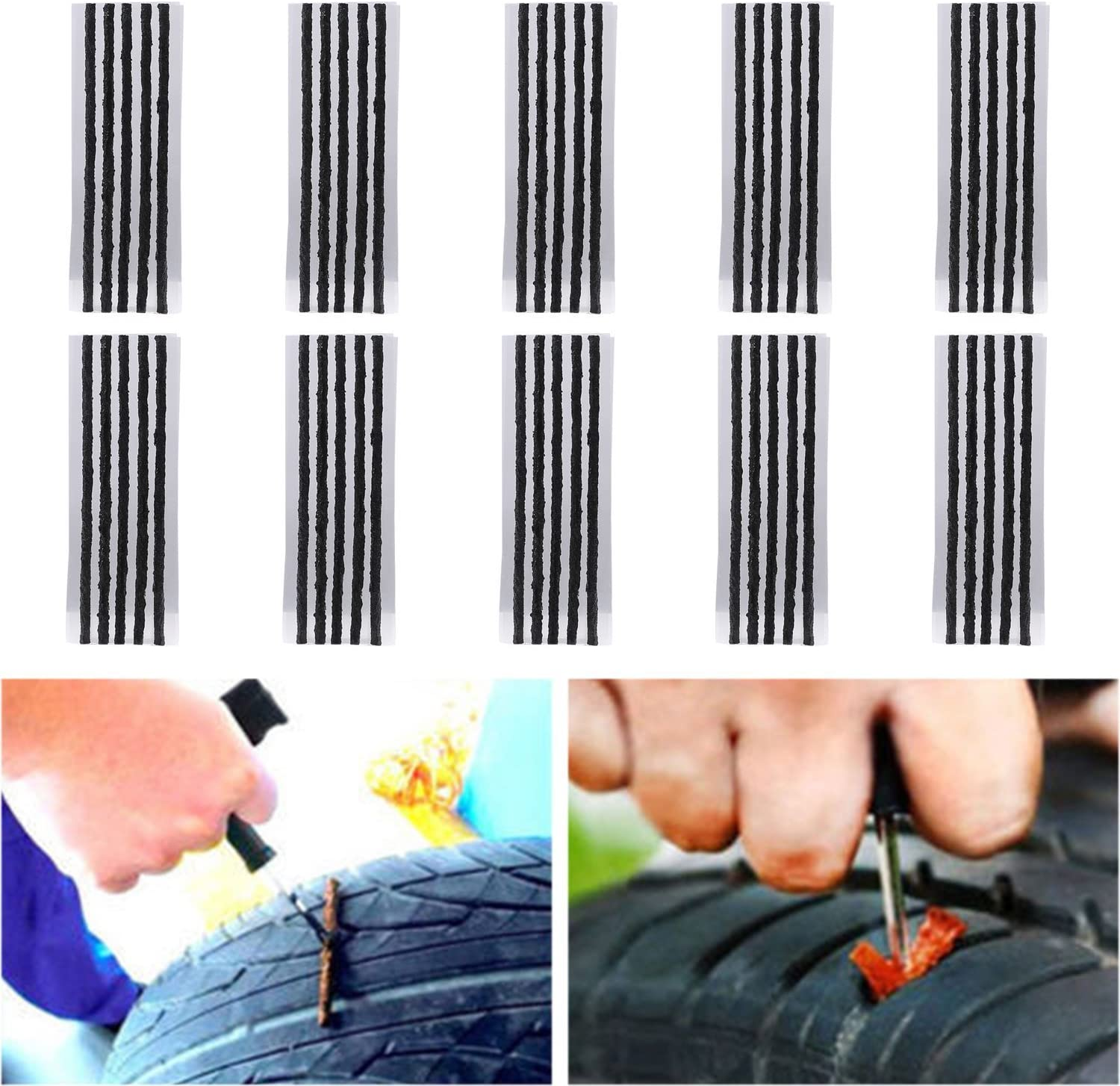 New sales TKOOFN Pack of 50 Tire Special price for a limited time Rep Strings Automotive Repair Tool