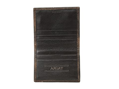 Ariat Brown Rowdy Shield de Ariat bi dinero Clip plegable UqSC0wd