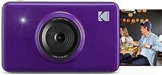 Kodak Mini Shot - Impresiones inalámbricas de 5 x 7.6 cm con 4 Pass tecnología de impresión patentada cámara digital de impresión instantánea 2 en 1 purpura