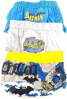 Calzoncillos Batman, Pack 3 Slips. Talla 6/8