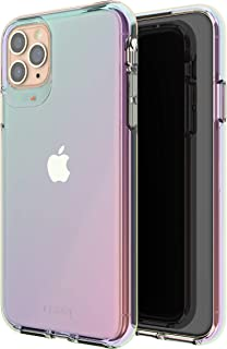 Gear4 Crystal Palace Iridescent Compatible with iPhone 11 Pro Max Case, Advanced Impact Protection with Integrated D3O Technology, Anti-Yellowing, Phone Cover � Iridescent