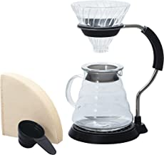 Hario V60 Arm Stand with Glass Dripper Set VAS-8006-G