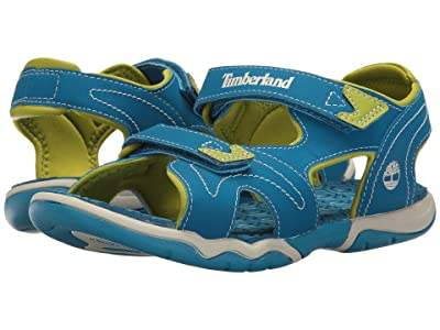 Timberland Kids Adventure Seeker 2 Strap Sandal (Big Kid) (Mykonos Blue) Kids Shoes