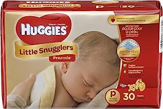 Huggies Gentle Care Preemies Diapers, Size P, 30-Count