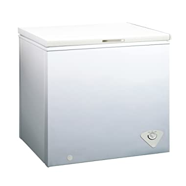 Midea WHS-258C1 Single Door Chest Freezer, 7.0 Cubic Feet, White