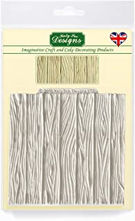 Katy Sue Designs Wood Panel Silicone Mold for Cake Decorating, Cupcakes, Sugarcraft, Candies and Clay, Food Safe Approved, Made in The UK