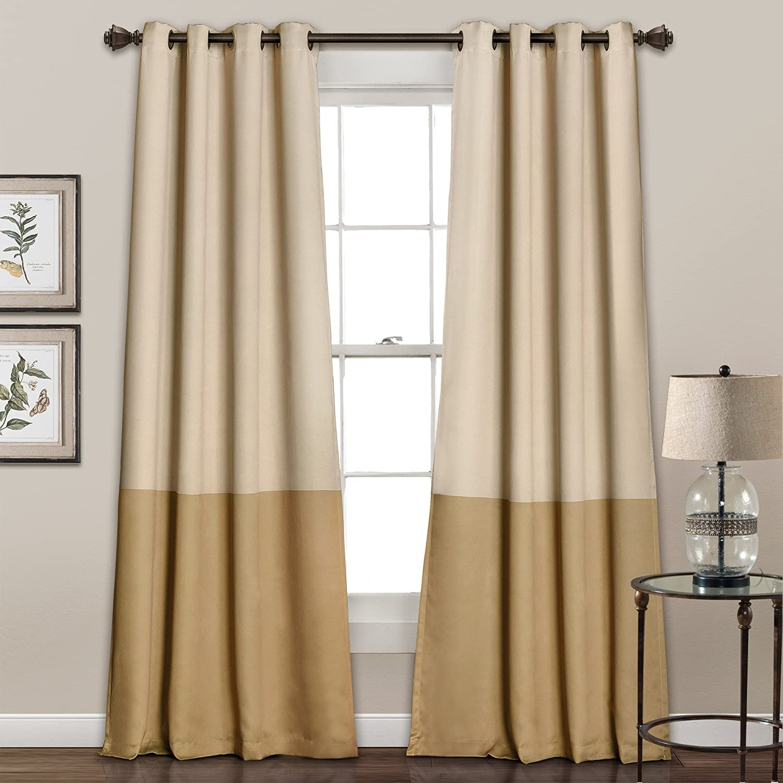 Lush Max 46% OFF Decor 16T000564 Room Our shop most popular Darkening Panel S Block Window Curtain