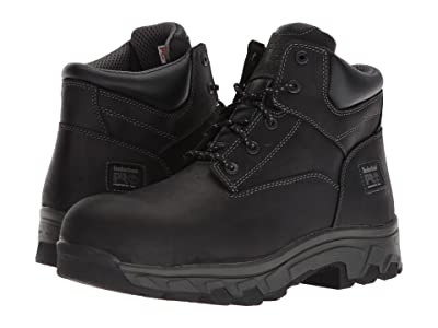 Timberland PRO Workstead 6 Composite Safety Toe SD (Black Full-Grain Leather) Men