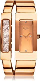 So & Co New York SoHo Women's Gold Dial Stainless Steel Band Watch - 5252.3