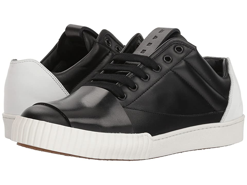 MARNI Color Block Sneaker (Black/White) Men
