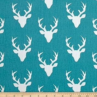 Art Gallery Fabrics 0492266 Art Gallery Hello Bear Buck Forest Lake Fabric by the Yard