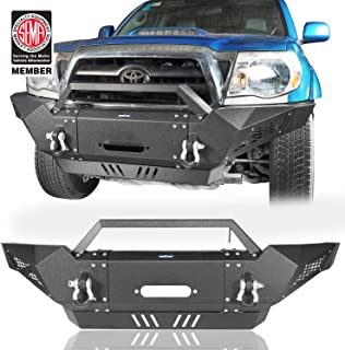 u-Box Destroyer Front Bumper Full Width Tacoma Bumper w/Winch Plate for 2005-2015 2nd Gen Toyota Tacoma
