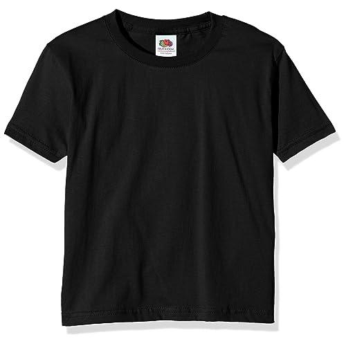 5cbbcd82b19a9 Tee Shirt Noir Enfant  Amazon.fr