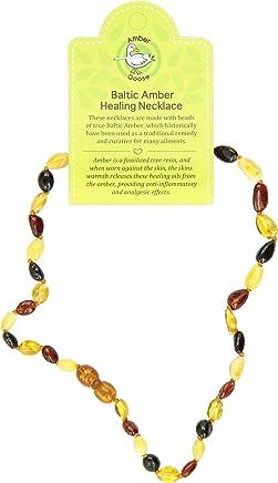 "Momma Goose Teething Necklace, Multi, 15"""