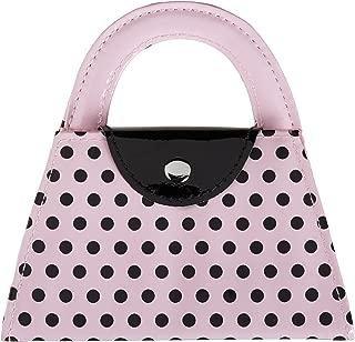 kate aspen pink polka purse manicure set pink