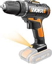 WORX WX101.9-Taladro Atornillador inalámbrico (20 V, sin batería ni Cargador)
