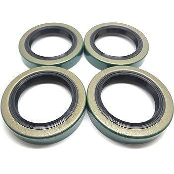 Seal 11174TB - ID 1.125 x OD 1.784, Pack 2 XiKe Trailer Hub Wheel Grease Seals