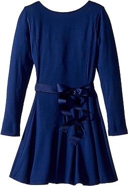 Polo Ralph Lauren Kids - Belted Jersey Dress (Little Kids)