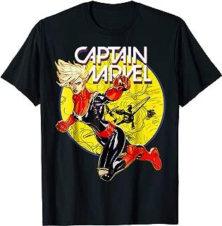Marvel Captain Marvel Earth's Mightiest Hero Graphic T-Shirt
