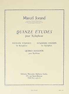 Marcel Jorand: Fifteen Studies for Xylophone
