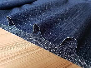 Dark Blue Denim Fabric - Denim Slub Stretch Jeans Cotton