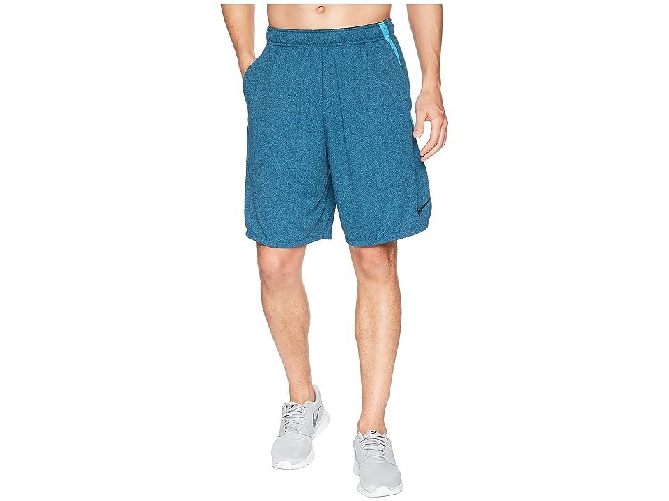Nike Dri-FIT 9 Training Short (Blue Force/Heather/Black) Men
