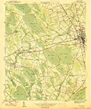 YellowMaps Mullins SC topo map, 1:24000 Scale, 7.5 X 7.5 Minute, Historical, 1947, 25.8 x 21.6 in