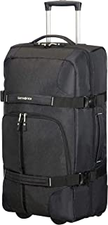 Samsonite Rewind Wheeled Duffle Bag, 38 Centimeter, Black