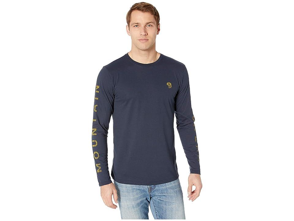 Mountain Hardwear Hardweartm Long Sleeve Tee (Dark Zinc) Men