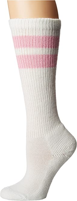 White/Pink Stripes