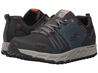 SKECHERS Escape Plan (Navy/Orange) Men