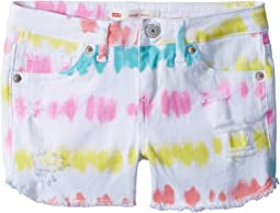 Sunrise Denim Shorty Shorts (Big Kids)