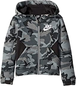 Club Fleece All Over Print Full Zip (Toddler)