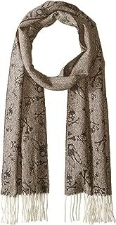 alpaca print scarf