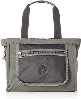 Kipling Damen LEOTA Sportliche Freizeittasche, Grün (Cold Bl Olive), Einheitsgröße